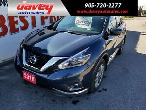 2018 Nissan Murano SV AWD, NAVIGATION, SUNROOF