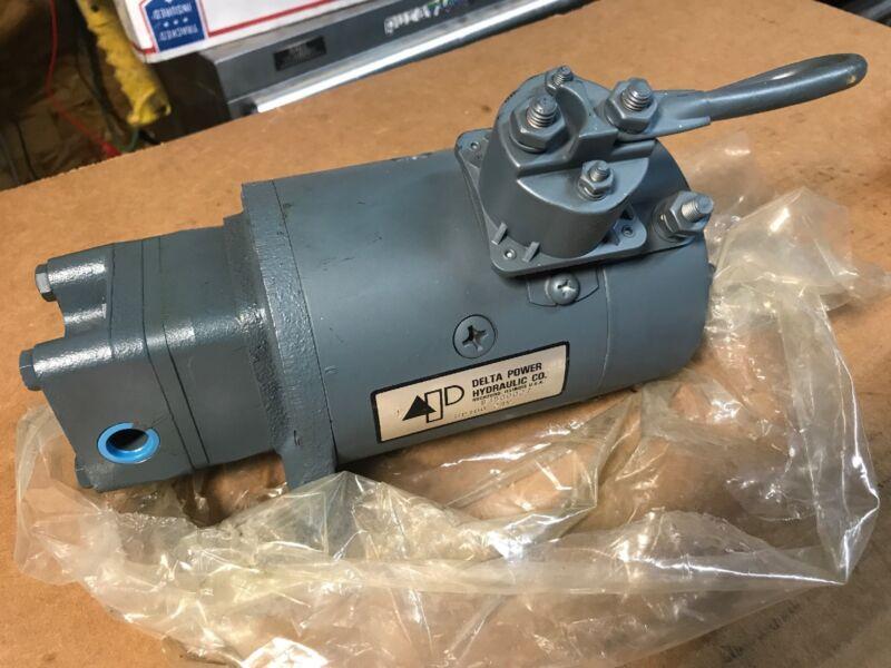 NEW Delta Power Hydraulic Pump w/ Tang Drive HP100 24V A2 H 1.0 Bi-Directional