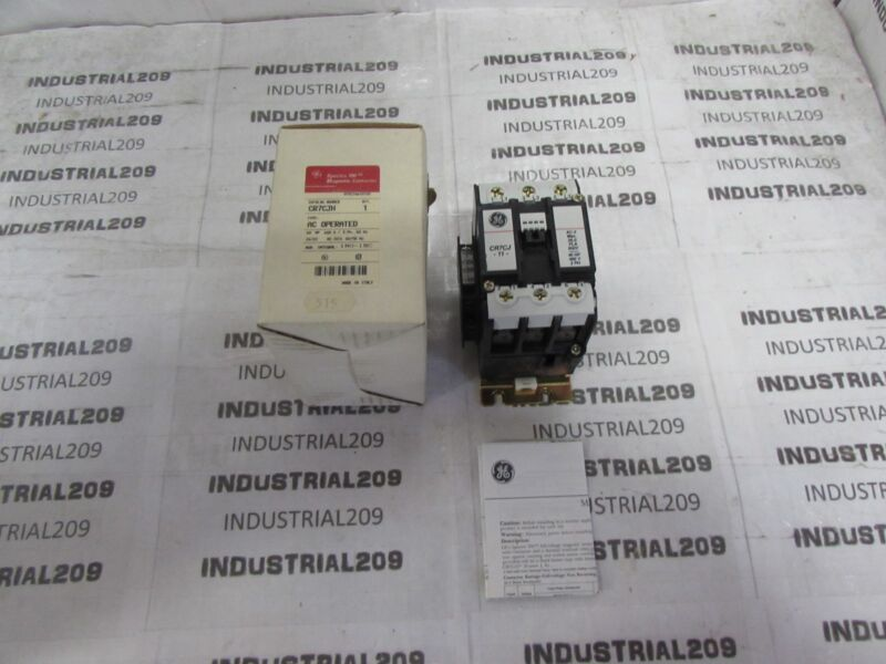 GENERAL ELECTRIC MAGNETIC CONTACTOR CR7CJH NEW IN BOX