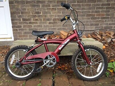 Trail And Ride Childs Bike With Bar To Be Attached For Use As Tandem Bike