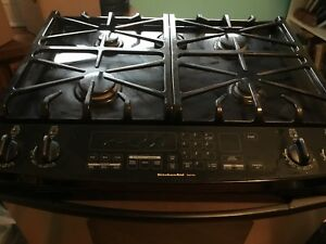 Kitchenaid superba gas stove set up for propane