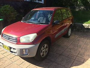 2001 Toyota RAV4 Wagon Chatswood Willoughby Area Preview