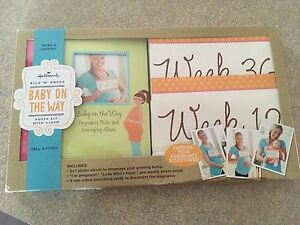 Baby on the way journal and photo book