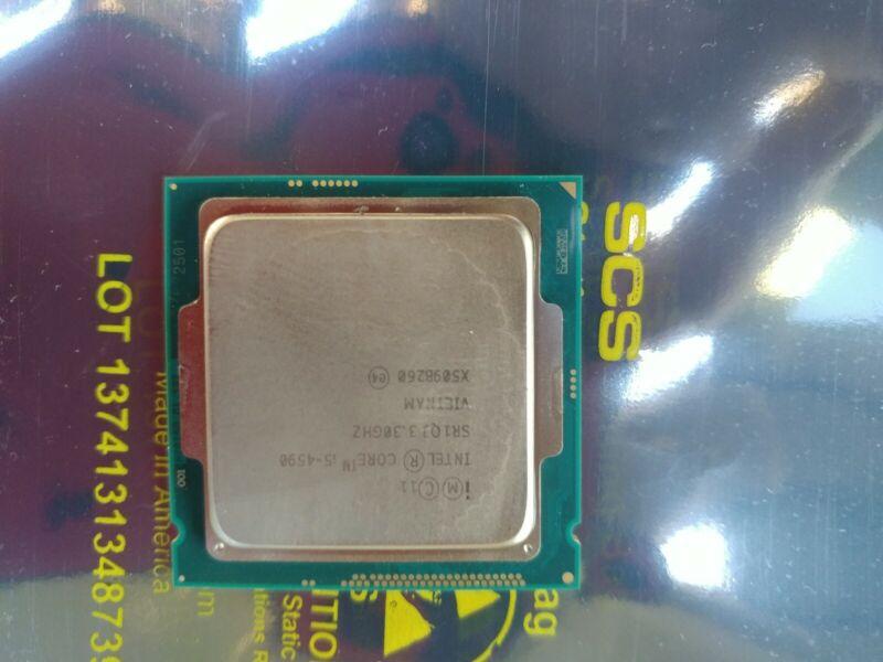 Intel Core i5-4590 3.3GHz Quad-Core  Processor