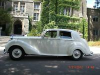Vintage/Antique Classic Car Wedding Limo - Rolls Royce