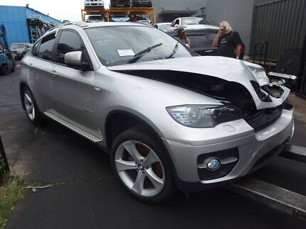 Wrecking Damaged BMW X6 Parts Engine Door Light Mag Glass Revesby Bankstown Area Preview