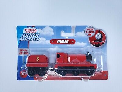Thomas & Friends Track Master Push Along James Metal Engine Fisher Price New