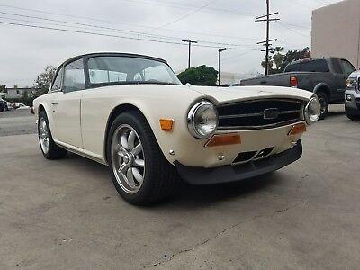 1973 Triumph TR-6  1973 Triumph TR6 Complete Restoration