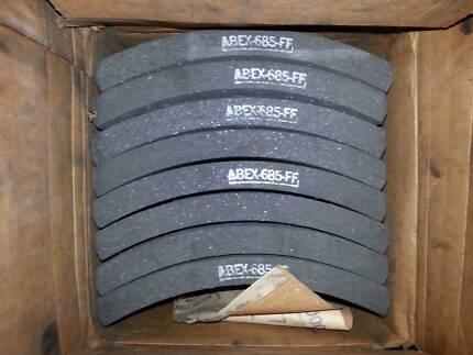 Truck Brake Lining Pads -Abex 685 FF - Set of 8