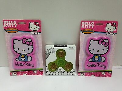 Sanrio Hello Kitty Jumbo Eraser 2-pk 3.75 X 2.5 W Bonus Hand Spinner