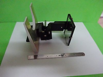 Microscope Part Polyvar Reichert Leica Mirror Assembly Optics As Is Binw2-07
