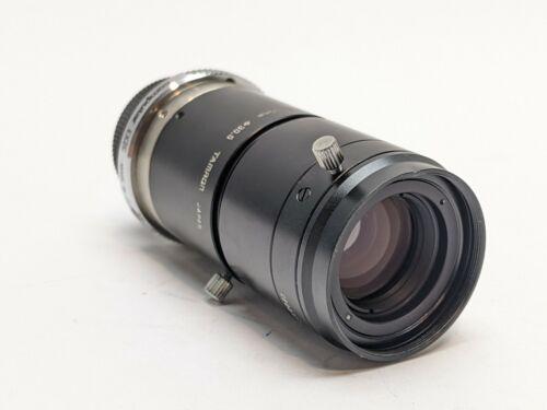 Tamron 1:2.8 50mm 30.5 Machine Vision Camera Lens w/ Computar EX2C Extender