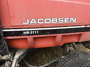 Jacobsen HR-5111 batwings lawn tractor for sale
