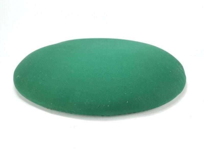 Bobbin Lace Cookie Pillow Vintage Antique Green Round