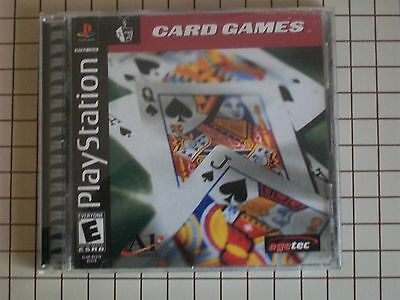 PlayStation 1 Card Games Game - $4.00