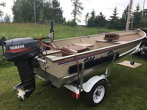 14 ft Misty River Boat inclusive package
