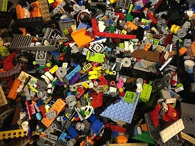 6lbs LEGO BULK PIECES LOT — please read description