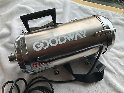 Goodway Cvc-100 Dry Abatement Dust Particle Hepa Cleaner Vacuum Only No Parts