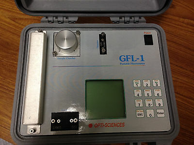 Opti-sciences Gfl-1 Portable Fluorometer W New Battery Tested