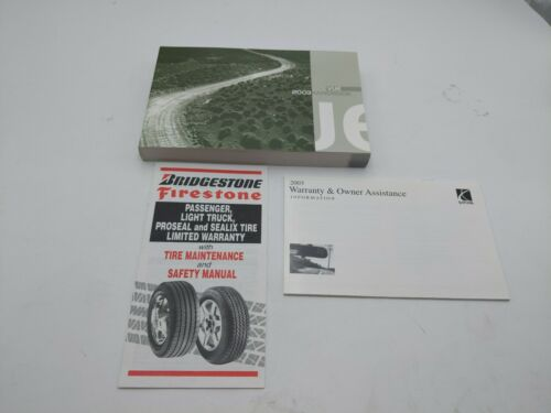 2003 03 SATURN VUE * OEM * OWNERS MANUAL OWNER'S HANDBOOK GUIDE