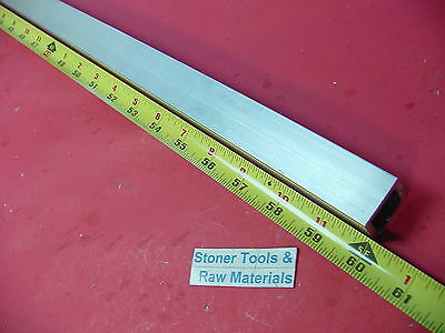 1x 1x 18 Wall X 60 Long Aluminum Square Tube 6063 T52 1 Sq X .125 W New
