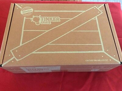 Kiwi-Crate Tinker Craft Kit,  9+ Years Old, New in Box, Unused. ](9 Years Old)