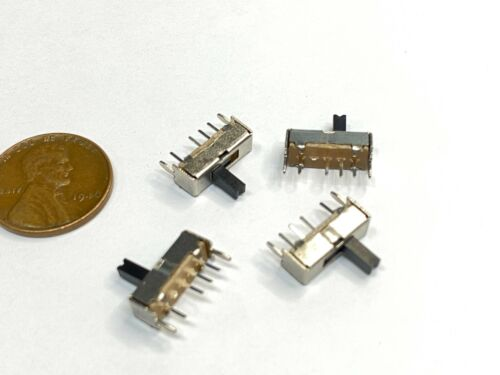 4 Pieces Slide switch SS-22f24G5 1p3t 5mm height handle ss000057 E23