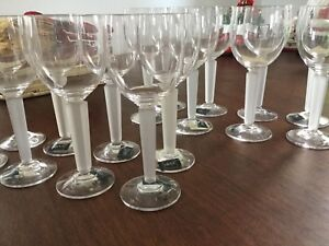 Ready for the holidays - Mikassa glasses.