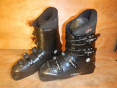 Rossignol Comp J Ski Boots Mondo 24.5 Kids Youth - Lot RA6