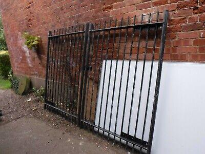 Large Galvanised Security Gates (362B)