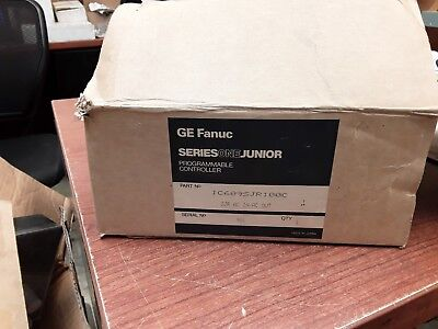 Ge Fanuc Series One Junior Programmable Controller Ic609sjr100c