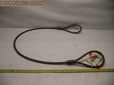 Lift-all 12ieex5 Wire Rope Sling Eye Eye 12 X 5ft 697886272258