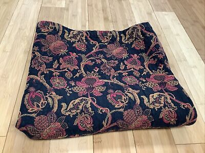 "Vintage Xochi Tapestry Table Cloth 63""x56"""