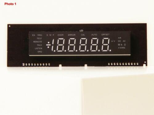 LED Display Module FLUKE 8840A/42A (Diy Kit) replace broken, damaged, etc. VFD