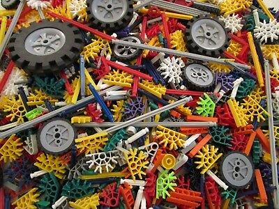 Knex RODS~CONNECTORS~WHEELS~Different Lots To Choose From [Spares Replacements]