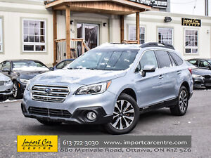 2016 Subaru Outback 3.6R w/Limited Pkg NAV LEATHER ROOF HK WOW!!