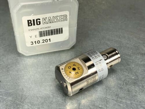 Kaiser 10.310.201 High Precision Fine Boring Head EWN25 x KAB2 310.201
