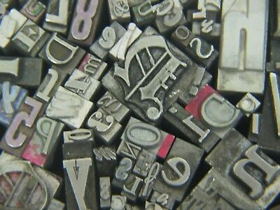 Mixed Metal Type - Letterpress From The 50s Era 3
