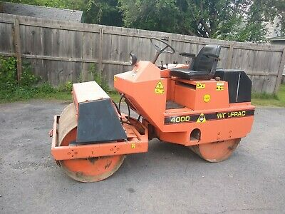 Stone 4000 Diesel Powered Vibratory Articulating 2 Ton Roller Compactor