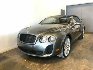 2011 Bently Continental Supersports Convertible 621 HORSEPOWER,