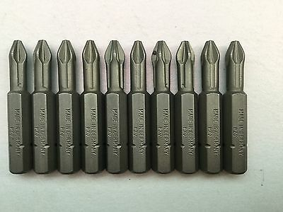 pz2 Bits 30 quality torsion 50mm fits bosch milwauee hilti hitachi impact driver