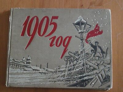 Album Russische Revolution von 1905,Autogramm,Moskau 1955.
