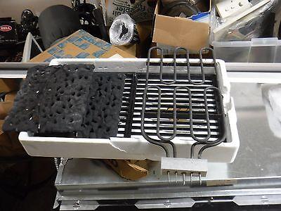 used Jenn-air Range Burner , Grill Grates And Lava Rocks and - Burner Grates Griddle