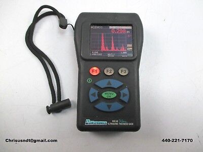 Olympus 38dl Danatronics Ehc-09 Ultrasonic Thickness Gauge Flaw Detector Ndt Ge