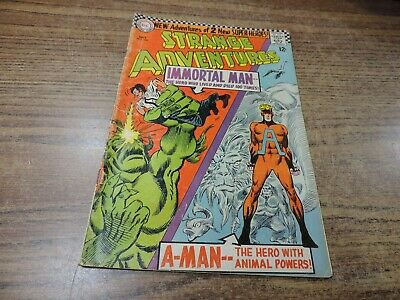 Strange Adventures 190 1st appearance Animal Man in costume 1966 DC - Animal Man Costume