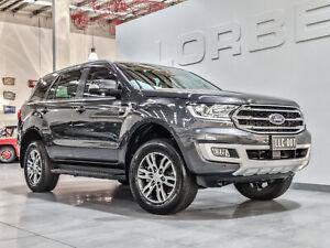 2019 Ford Everest UA II MY19 Trend (RWD 7 Seat) Meteor Grey 10 Speed Auto Seq Sportshift Wagon