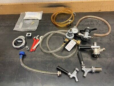Kegerator Hardware Parts And Supplies. Regulator Taps Hoses More