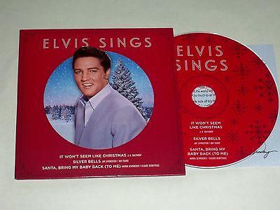 Elvis' 2013 Rare Graceland Holiday Promo Fan Club President CD, Insert, Mint