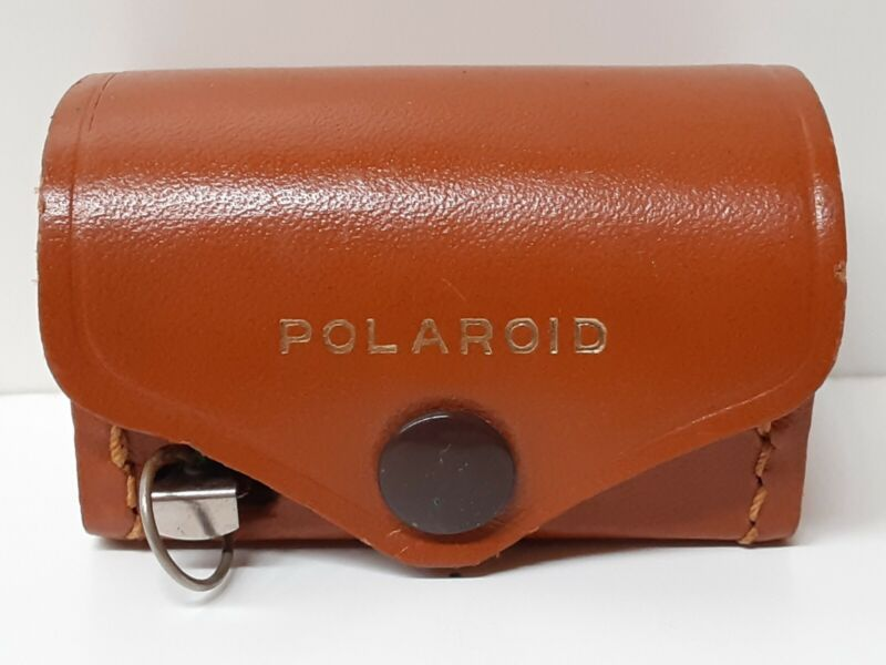 VINTAGE POLAROID CLOSE-UP LENS KIT #540 WITH LEATHER CASE VERY GOOD USED