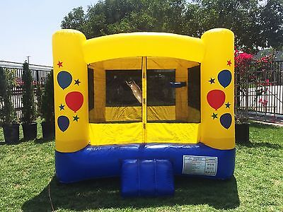 JumpOrange Kiddo 12'X12' Balloon Inflatable Party Bounce House Now $399 On Sale